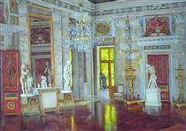 Italian Hall Ostankino Palace - Konstantin Yuon