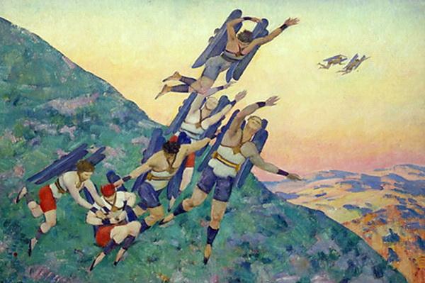 People of the Future, 1929 - Konstantin Yuon