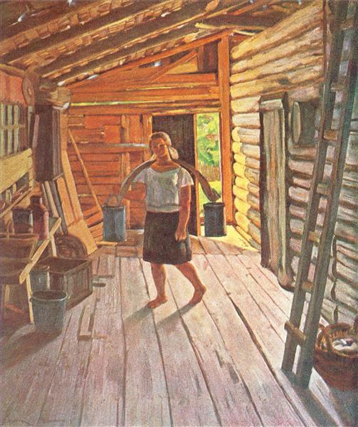 The Seney. Ligachevo, 1929 - Konstantin Yuon