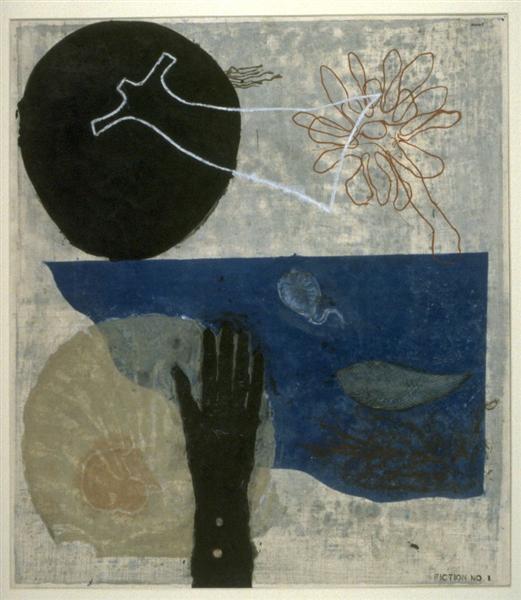 Fiction no. 1, 1953 - Koshiro Onchi