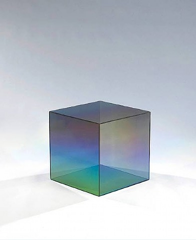 """20"""" Cube, 1968 - Larry Bell"""