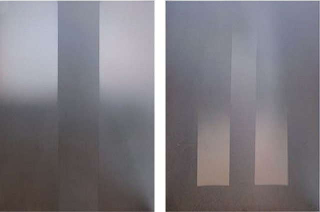 Diptych, 1971 - Larry Bell