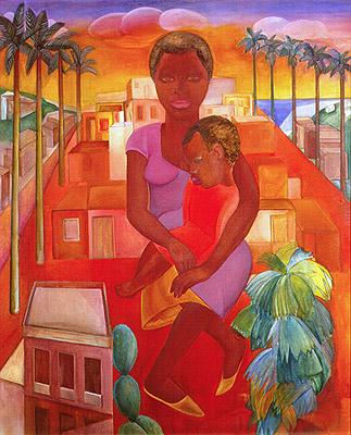 Morro Vermelho, 1926 - Lasar Segall