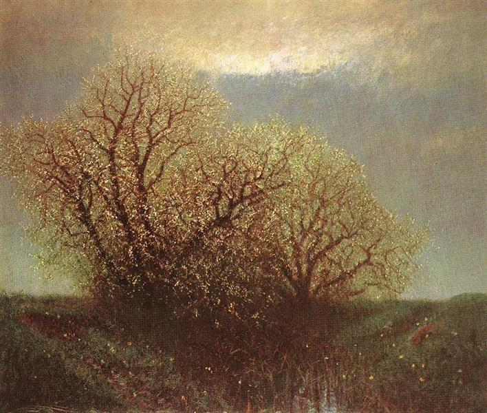 Blossoming Trees, 1900 - Laszlo Mednyanszky