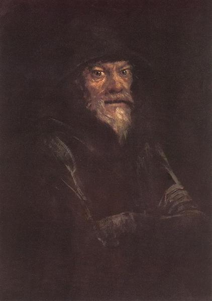 Old Man, 1897 - László Mednyánszky