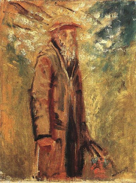 Old Man, 1918 - Laszlo Mednyanszky