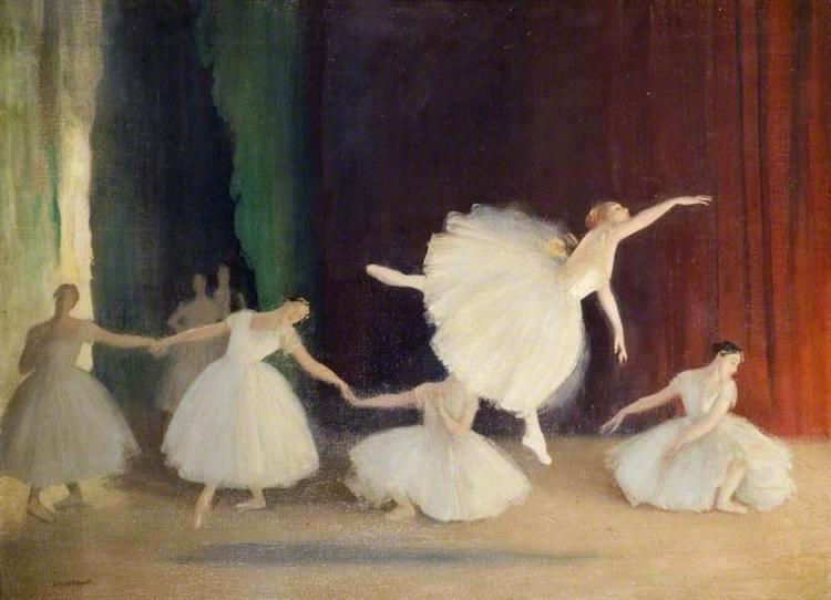 Les Sylphides, 1922 - Лаура Найт