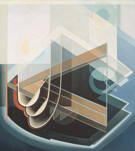 Abstract No. 7, 1939 - Lawren Harris