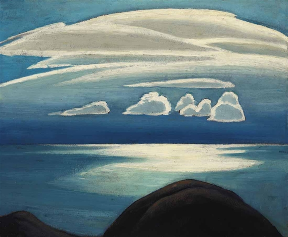 Lake Superior, 1928 - Lawren Harris