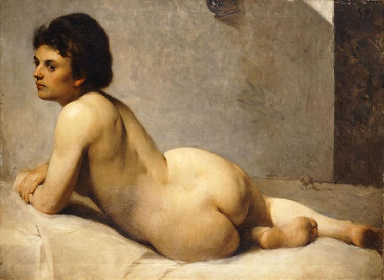 Nude, c.1877 - Polychronis Lembesis