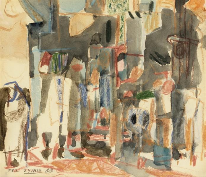 Fez, 1952 - Lennart Rodhe