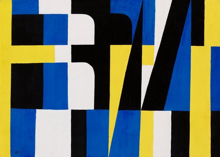 Kontraster I, 1954 - Lennart Rodhe