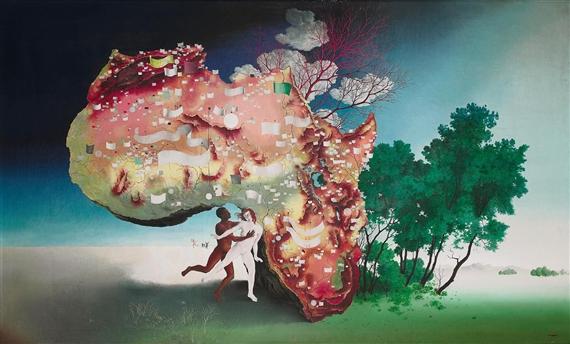 Carte de l'Afrique - Леон Артур Тутунджан