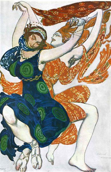 Operatic costume designs, 1911 - Leon Bakst