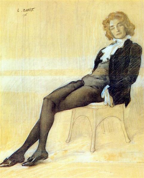 Зинаида Гиппиус, 1906 - Леон Бакст