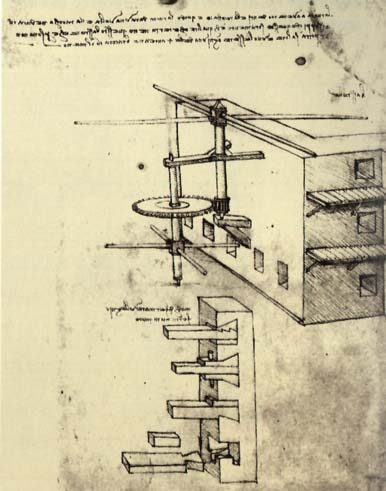Siege Defenses, c.1481 - Leonardo da Vinci