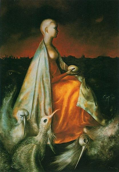 La Gardienne des Phénix, 1954 - Leonor Fini