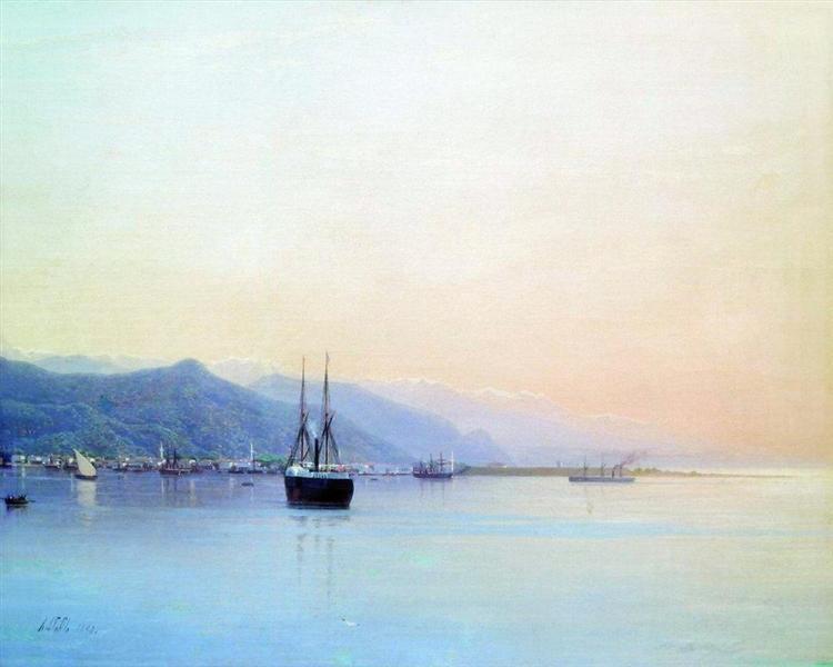 A bay, 1880 - Lev Lagorio