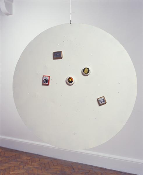Untitled (Moveable Magnetic Photographic Points on Metallic Disc) - Li Yuan-chia