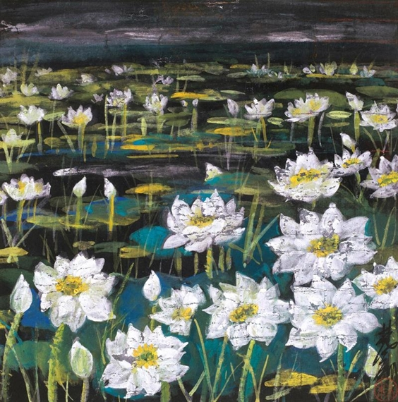 Lotus, 1977 - Lin Fengmian