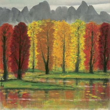 Maple Wood - Lin Fengmian