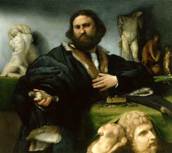 Andrea Odoni, 1527 - Lorenzo Lotto