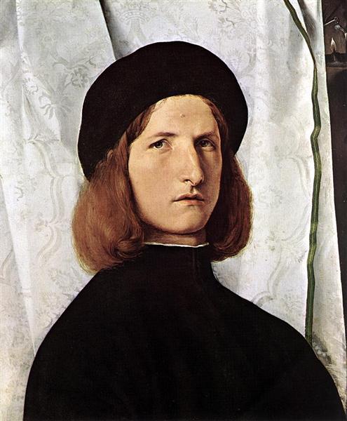 Portrait of a Man, c.1508 - Лоренцо Лотто