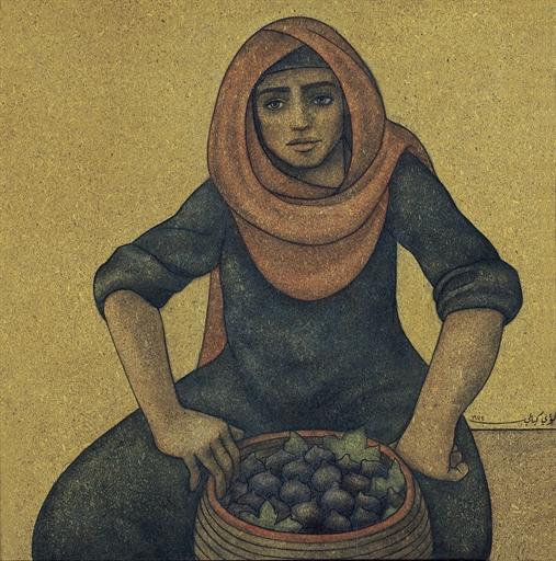 Woman Selling Figs - Louay Kayyali