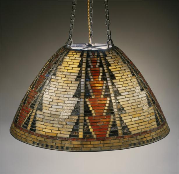 Hanging shade, 1899 - Louis Comfort Tiffany
