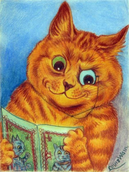 A GOOD READ - Louis Wain