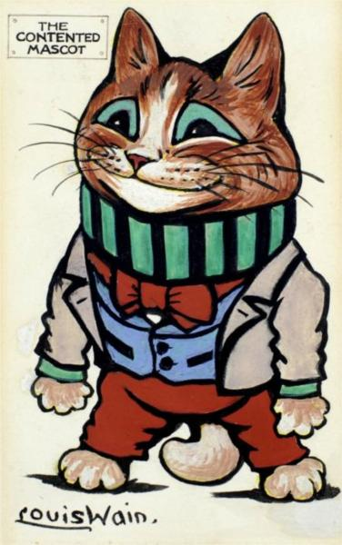 THE CONTENTED MASCOT - Louis Wain