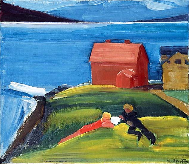 Fólk í landslagi, 1978 - Louisa Matthiasdottir
