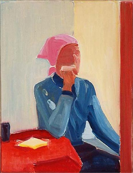 Self-portrait, 1982 - Louisa Matthiasdottir