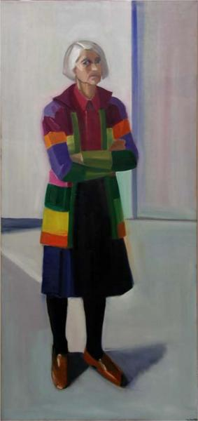 Self-portrait, 1984 - Louisa Matthiasdottir