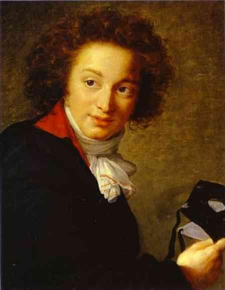 Count Grigory Ivanovich Tchernyshov Holding a Mask, 1793 - Louise Elisabeth Vigee Le Brun