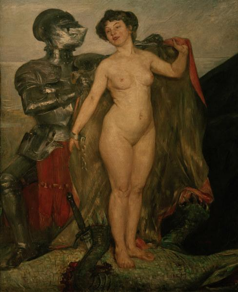 Perseus and Andromeda - Ловис Коринт