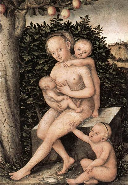 Charity - Lucas Cranach, o Velho