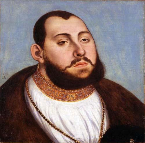 John Frederick the Magnanimous, Elector of Saxony, 1535 - Lucas Cranach der Ältere