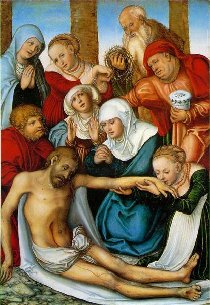 Lamentation, 1538 - Lucas Cranach der Ältere