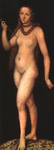 Lucrecia - Lucas Cranach el Viejo