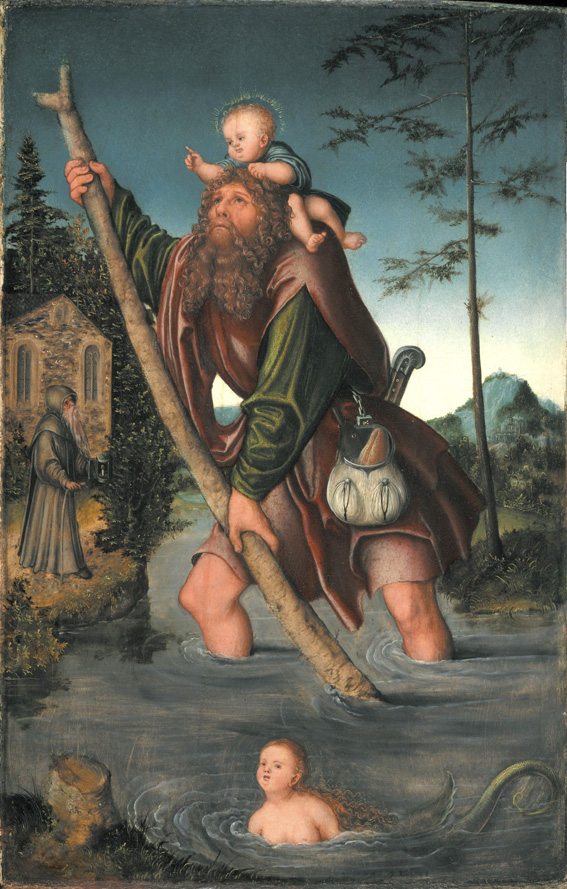 Image result for ST CHRISTOPHOROS PROTECTING