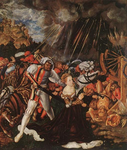 The Martyrdom of St. Catherine, 1504 - 1505 - Lucas Cranach the Elder