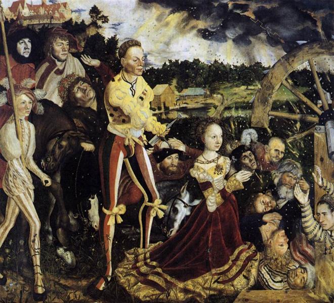 The Martyrdom of St. Catherine, 1506 - Lucas Cranach der Ältere