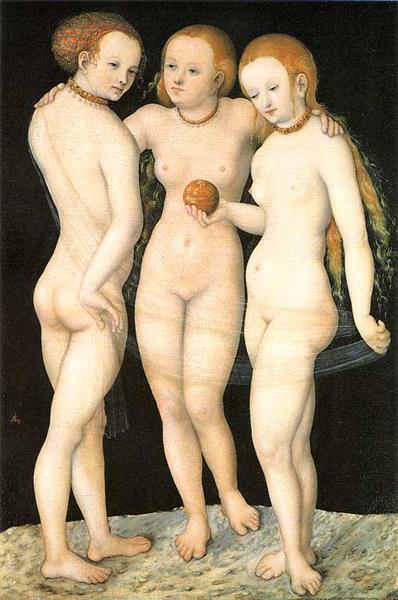 The Three Graces, c.1530 - Lucas Cranach der Ältere