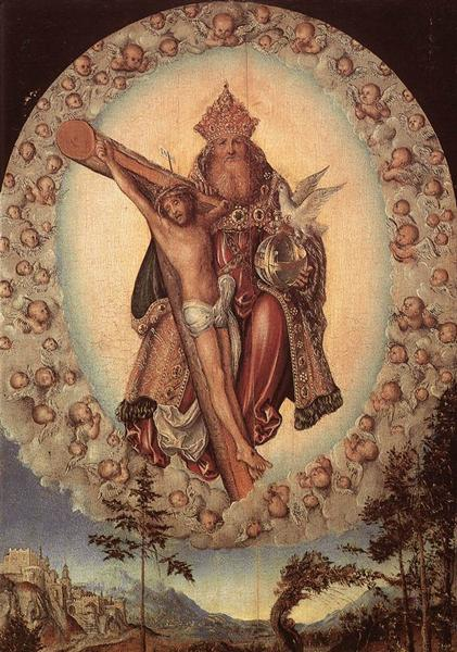 Trinity, c.1515 - Lucas Cranach the Elder