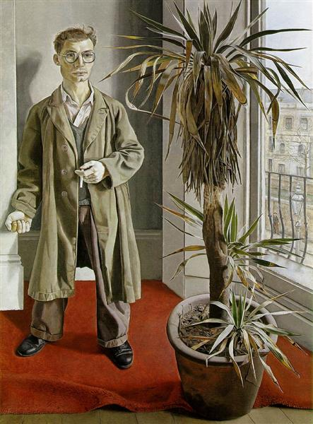 Interior at Paddington - Freud Lucian