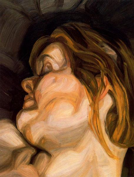 Sleeping Head, 1962 - Lucian Freud