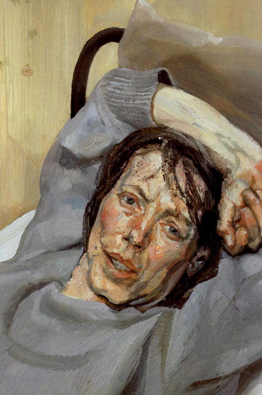 Фото картины спящая домработница фрейд 22 фотография