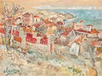Balchik Towards the Sea - Lucian Grigorescu