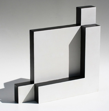White and Black Sculpture, 1965 - Lygia Pape